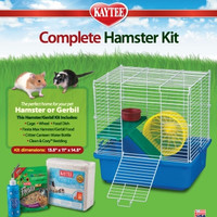 Kaytee My First Home And Fiesta Complete Starter Kit For Hamsters