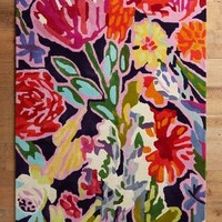 Deconstructed Bouquet Rug by Anthropologie in Multi Size: