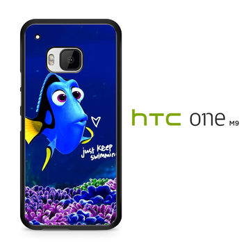 Just Keep Swimming Dory HTC One M9 Case