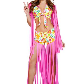 2pc Foxy Flower Child - Multi Colored