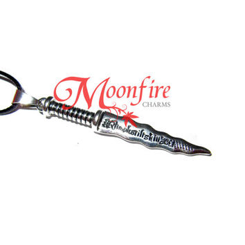ONCE UPON A TIME Rumpelstiltskin Dagger Necklace
