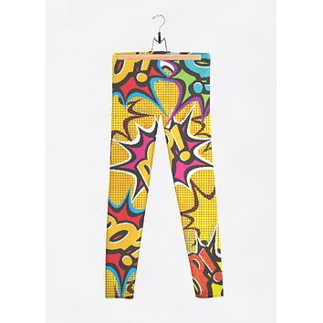 COMIC POP ART LEGGINGS