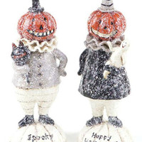 4 Halloween Decorations - Fully Dimensional