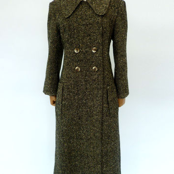 VINTAGE 1960s TIZIANI TWEED COAT 12
