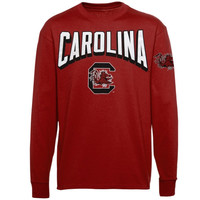 South Carolina Gamecocks Sender Long Sleeve T-Shirt – Garnet