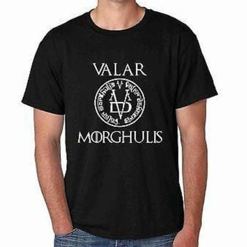 VONE05F Valar Morghulis Game Of Thrones Men's T-shirt Day First