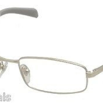 NEW AUTHENTIC VOGUE VO3755 COL 323 SILVER W/GREY METAL EYEGLASSES FRAME VO 3755