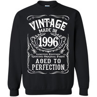 Vintage Made In 1996 Birthday Gift Idea T Shirt