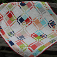 Baby Quilt,  Crib Quilt, Nursery Bedding