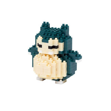 NANO BLOCK POKEMON : Kabigon [Snorlax]