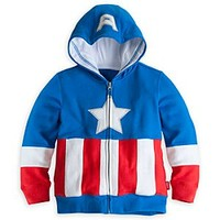 Captain America Hoodie for Boys | Disney Store