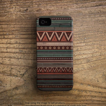 Aztec iPhone 5 case, rubber iPhone 4 case rubber iPhone 5 case geometric iphone 4 case native iPhone 5 case wood iphone 5 case indian /c8
