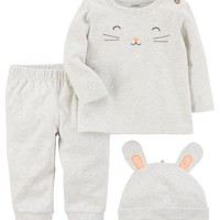 3-Piece Cotton Take-Me-Home Set