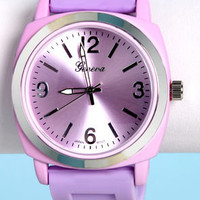 Jelly Bean Soft Lavender Watch