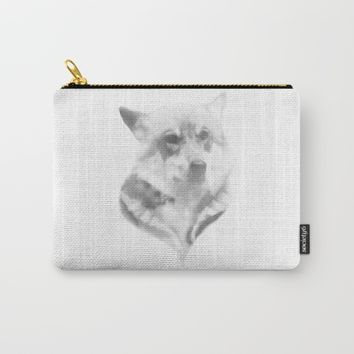 Wolf Minimalist Carry-All Pouch by Brittany