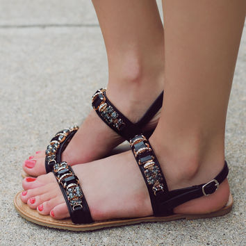 Rock Steady Sandal - Black