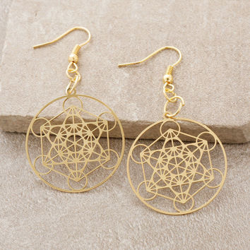 Sacred Matrix Earrings