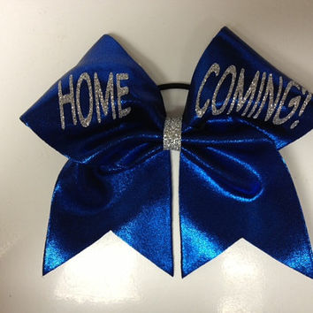 Homecoming proposal cheer bow