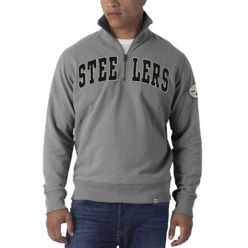 Pittsburgh Steelers - Striker 1/4 Zip Premium Sweatshirt