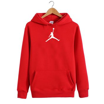 Sports hooded fleece hip-hop men and women lovers set of head nodding unlined upper garment