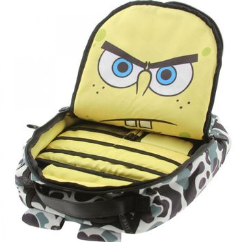 BAIT x Sprayground x SpongeBob SquarePants Backpack (camo)