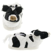 Cow Slippers for Women and Men Medium