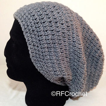 In Stock | XL Men's Beanie | Medium Gray | Unisex | Adult | Free USA Shipping | Heather Grey | Extra Large