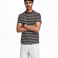 Cotton Piqué T-shirt - from H&M