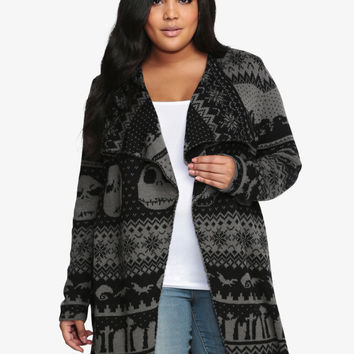 Nightmare Before Christmas Collection Drape Cardigan