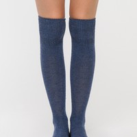 Hue / Cuffed Tweed Knee Hi