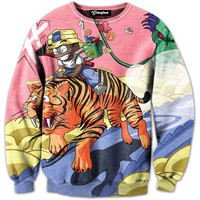 Quest for Dragon Balls Crewneck