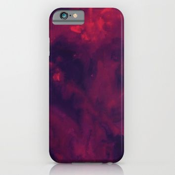 Watercolor Purple iPhone & iPod Case by Andre D
