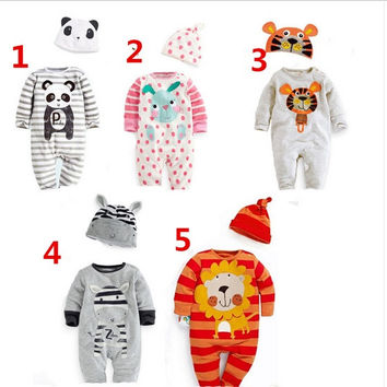 2015 Winter NEW Baby Cartoon Rompers Jumpsuit Badysuit Clothes Outfit 0-1 years = 1958522436