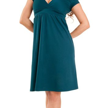 Sparrow Lush Dress in Teal | Blame Betty