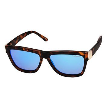 Le Specs Whaam! Matte Tort & Light Gold Sunglasses