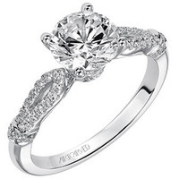 "Artcarved ""Josie"" Diamond Engagement Ring"