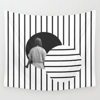Into the Void Wall Tapestry by Tyler Spangler