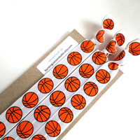 Basketball  headbands, set of 3 FOE hair bands, stretch headwrap, adult size, workout headband, stocking stuffer, Sports gift, athletic girl