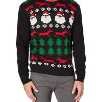 Ho Ho Homies Ugly Christmas Sweater
