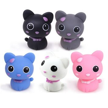 New Lovely Cartoon Cat Auto Car Ornaments Automotive Supplies Interior Decorations toy Sharking head Cat free shipping