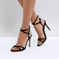Call It Spring Fiven Strappy Barely There Heeled Sandals at asos.com