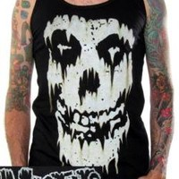 ROCKWORLDEAST - The Misfits Tank Top, Weathered Logo