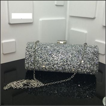 2017 Women clutch bags female Evening bag Diamond Rhinestone Clutches Crystal Wallet Wedding Purse ladies Party Banquet band bag