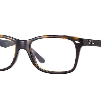Ray-Ban Optical 0RX5228 50 Dark Havana Women's Glasses