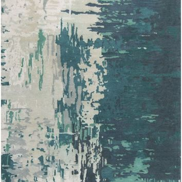 Banshee Area Rug Blue, Green