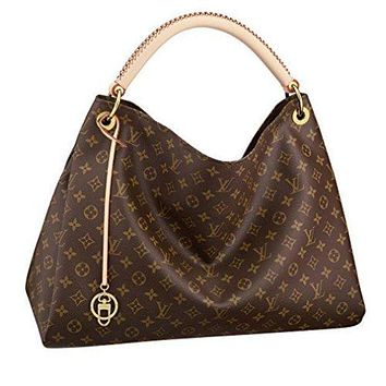Tagre™ Louis Vuitton Monogram Canvas Artsy MM Handbag Article:M40249 Made in France Louis Vuitton Bag