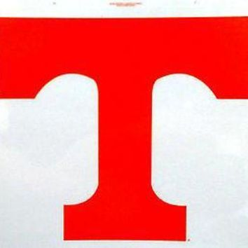 ESBONC. Tennessee Volunteers Reusable JUMBO Cling Auto Window Static Decal University of