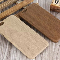 Wood Soft Case for iPhone 5s 6 6s Plus Gift 08