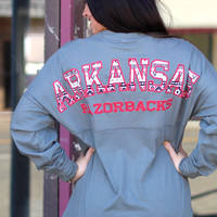 Aztec Arkansas Jersey {Grey}