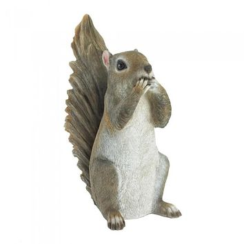 Speak No Evil Squirrel Figure